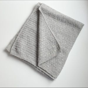 Accessories - 3 for for $25 // hug soft grey nubbly winter scarf